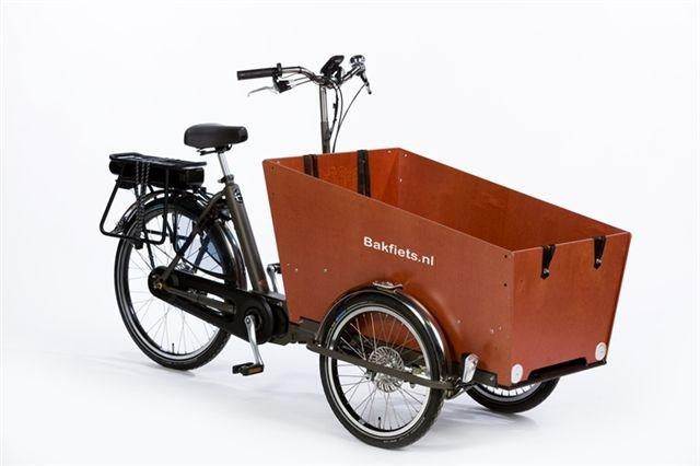Elektrische bakfiets.nl CargoTrike Classic Narrow Steps