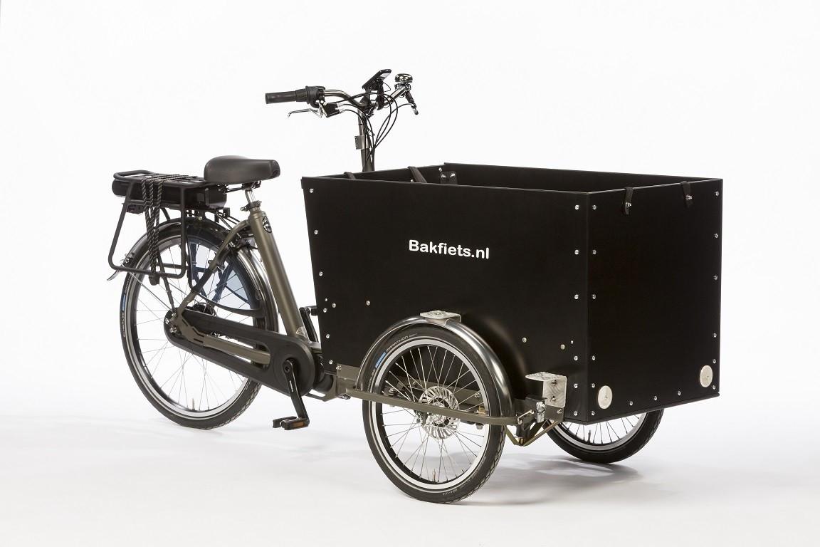 Elektrische bakfiets.nl CargoTrike Classic Wide Steps
