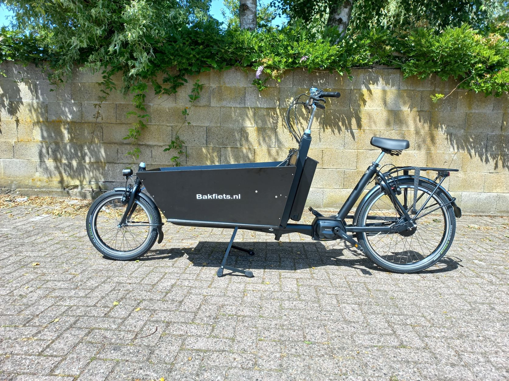 Elektrische bakfiets.nl Cargobike Classic Long Steps (voorraad model)