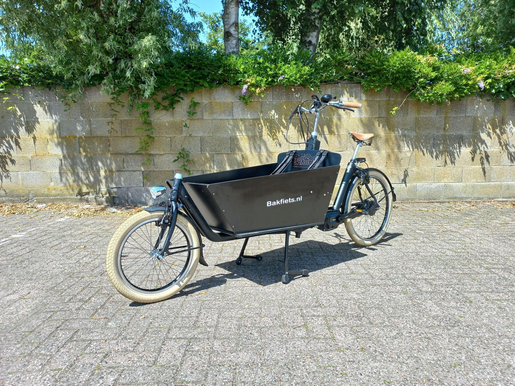 Elektrische bakfiets.nl CargoBike Cruiser Long Steps (voorraad model)