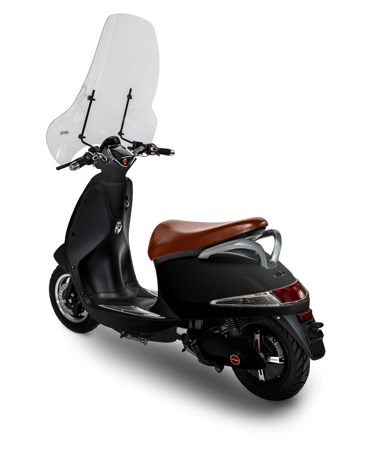 Windscherm Monasso Scooter-Blank