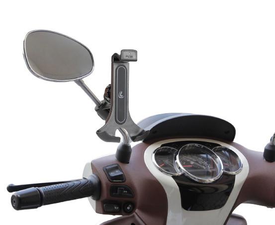 Smart Scooter Flow, Lampa universele telefoon smartphonehouder. Voor aan de spiegel of windscherm. 6