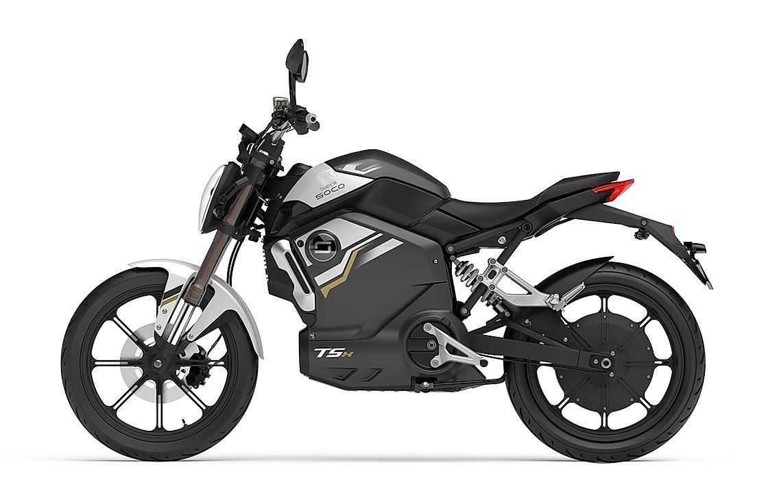 super soco tsx mat zwart 45km e-scooter