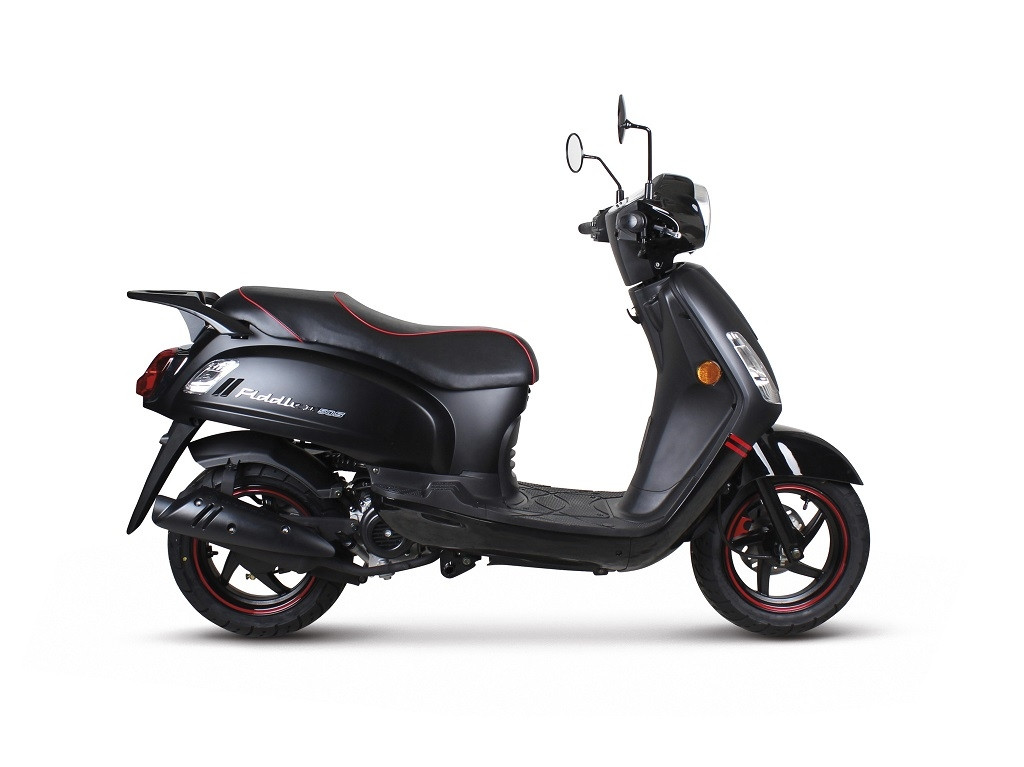 SYM-Fiddle-glans-grijs-metalic-light-brown-25km-45km scooter