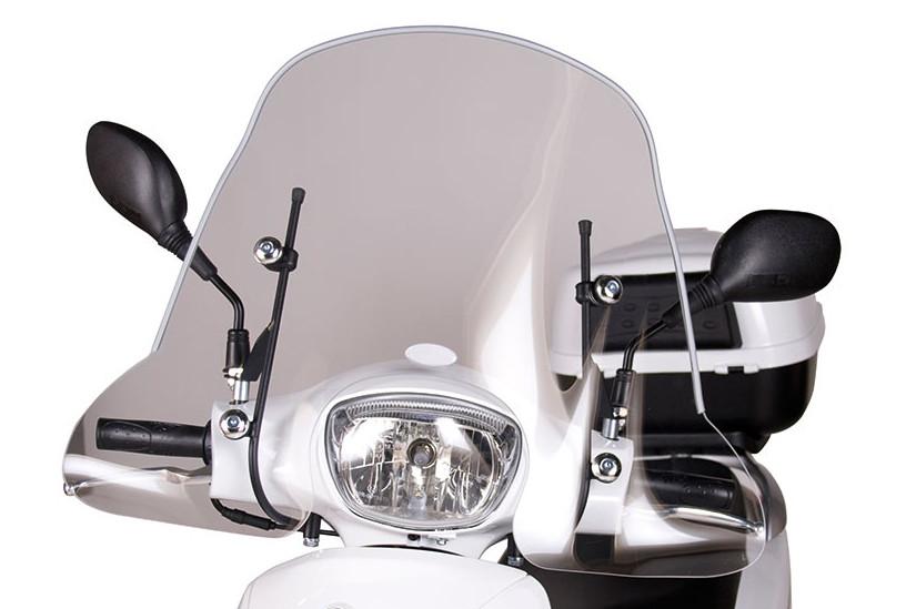 Windscherm. Peugeot. Tweet Evo en RS. Laag model. Origineel.