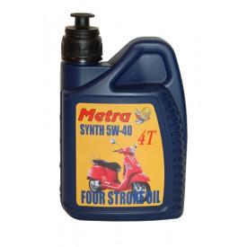Fles olie 4-takt scooter  5W40