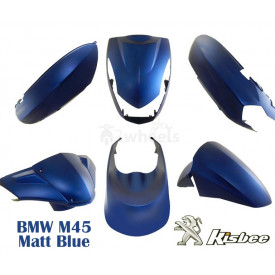 Beplatingset (kappenset) Peugeot Kisbee Mat Blauw  BMW M45