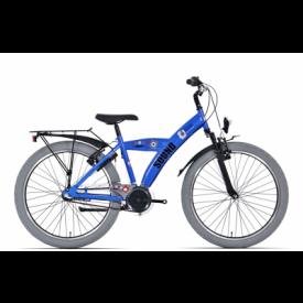 Bike Fun Sound Blauw 3 Versnelling 24 inch
