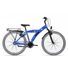 Bike Fun Sound Blauw 3 Versnelling 26 inch