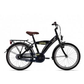 Bike Fun Fiets Urban Zwart 20 inch
