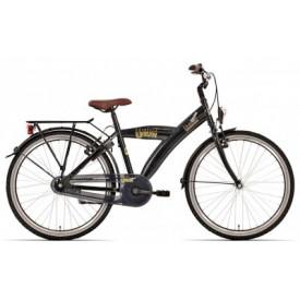 Bike Fun Urban Zwart 24 inch met of zonder versnellingen