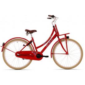 Bike Fun Love & Peace Rood 3v 26 inch