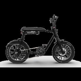Phatfour FLB+ E-bike zwart 2 persoons