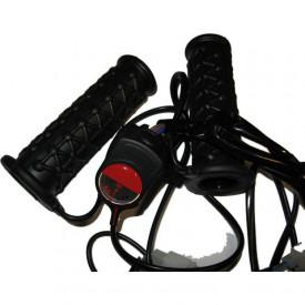 Handvat verwarming set 22mm universeel toepasbaar 12 volt.