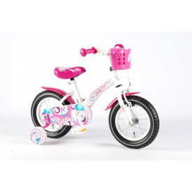 Kanzone fiets Giggles Wit 12 inch