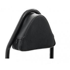 Kussen zwart voor de achterdrager met rugsteun SYM Mio 50i.