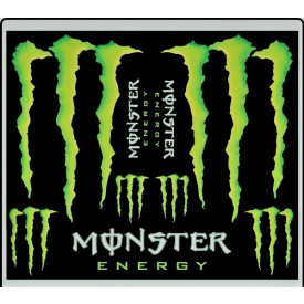 Stickerset sponsor: Monster Energy