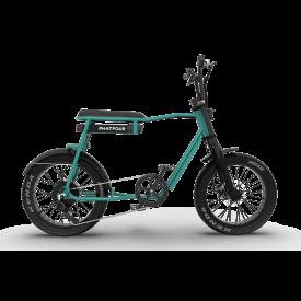 phatfour FLS+ ocean green fatbike ebike