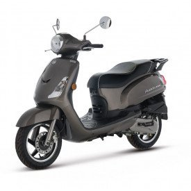 SYM-Fiddle-glans-grijs-metalic-light-brown-25km-45km scooter