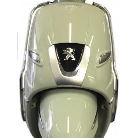 Sierbeugelset. voorkant. Peugeot Django. Chroom. Origineel.