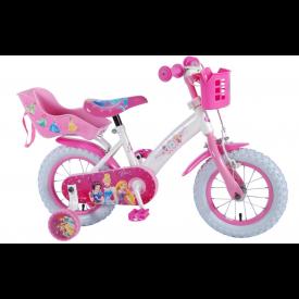 """Yipee 12""""Princess kinder fiets Belle, Doornroosje en Assepoester"""