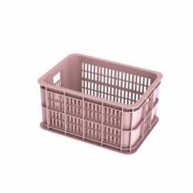 Fietskrat Basil Crate  faded blossom in diverse maten