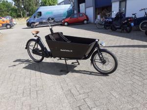 Actie model. Bakfiets.nl Cruiser Long Steps mat Zwart