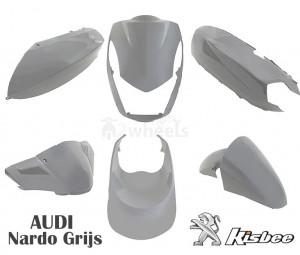 Beplatingset (kappenset) Peugeot Kisbee Nardo Grey