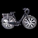Puch E-Folk N3 Elektrische fiets zwart