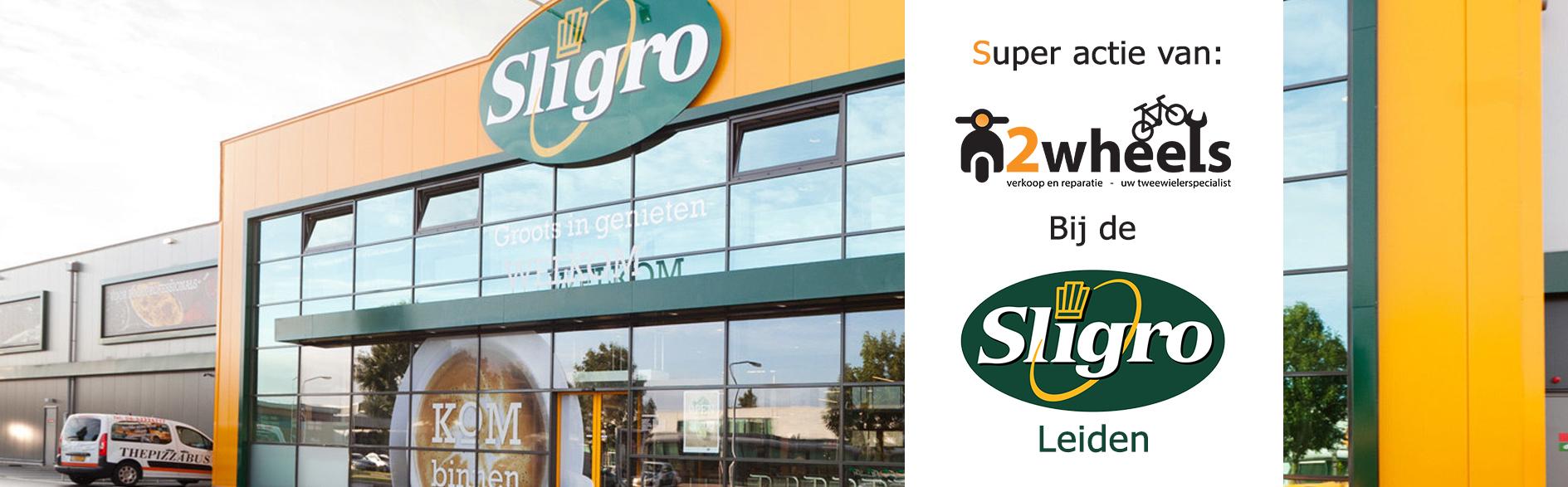 SYM E-XPRO bezorgscooter Sligro actie 2wheels